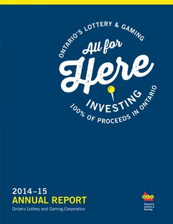 Cover of OLG Annual Report