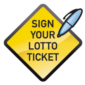 Sign Your Lotto Ticket logo