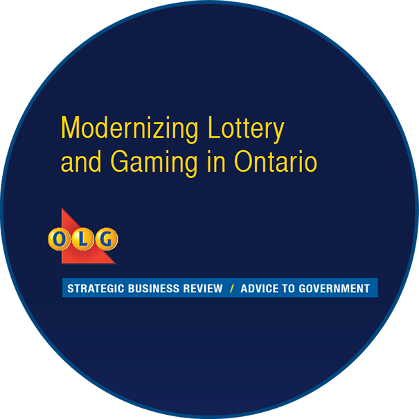 Modernizing Lottery and Gaming in Ontario report cover