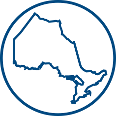 Illustration of a Ontario map