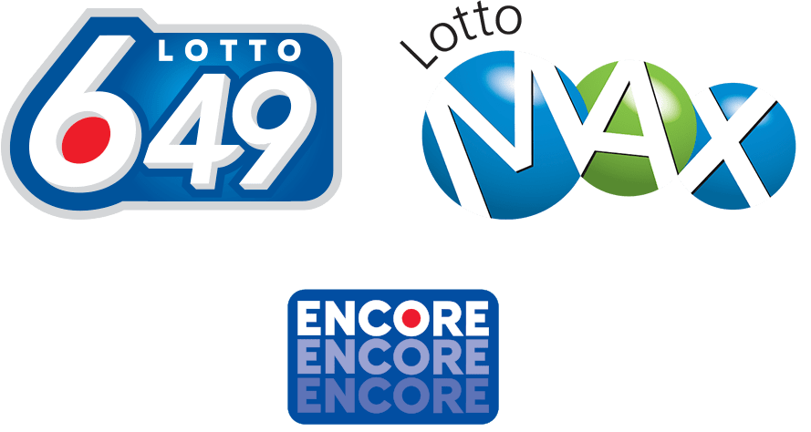 Lotto 649, Lotto Max, and Encore logos
